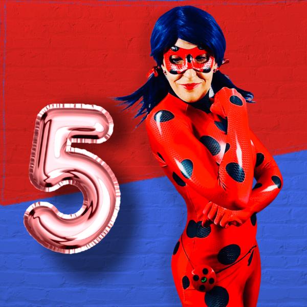 Lady B. 5. Geburtstag - Videobotschaft für Kinder