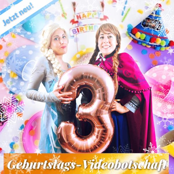 Prinzessinnen Geburtstags-Videobotschaft zum 3.Geburtstag